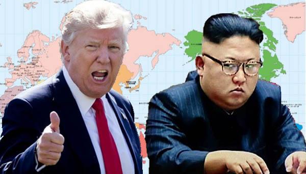 トランプ大統領と金正恩